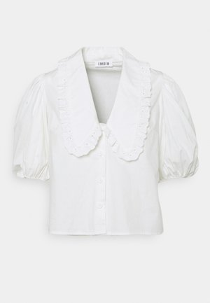 ADELE BLOUSE - Button-down blouse - weiß
