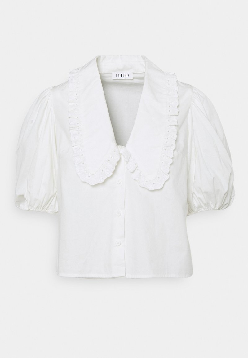 EDITED - ADELE BLOUSE - Button-down blouse - weiß