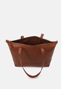 Zign - LEATHER - Tote bag - cognac - 2