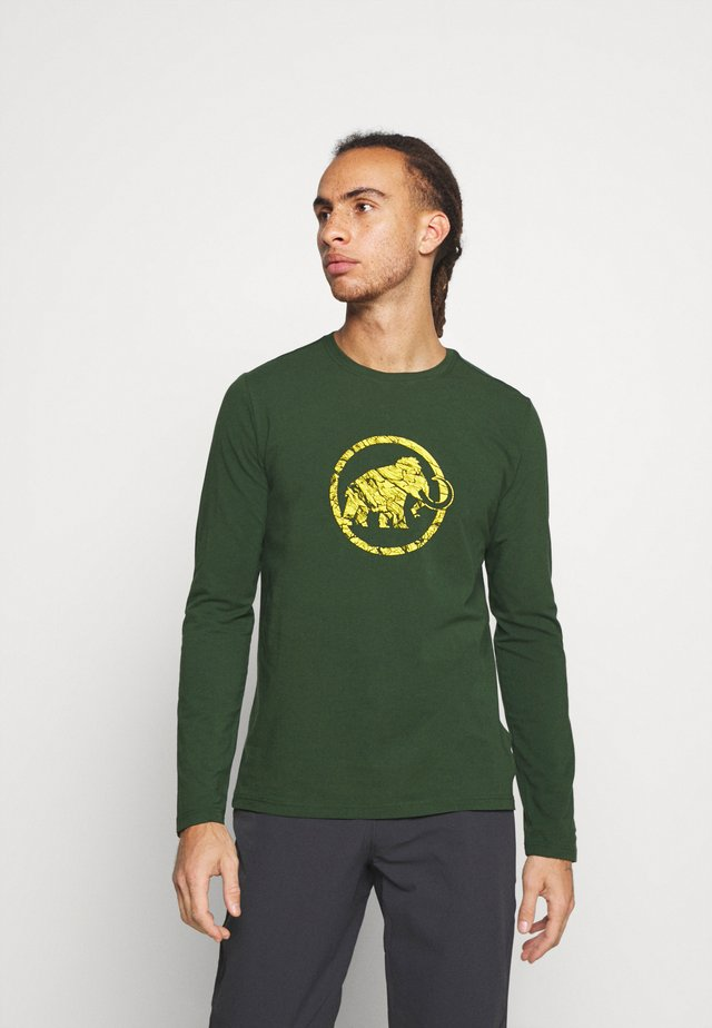 LOGO LONGSLEEVE - Long sleeved top - woods