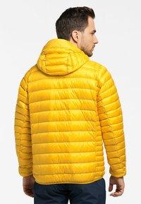 Haglöfs - ROC DOWN HOOD - Down jacket - pumpkin yellow - 1