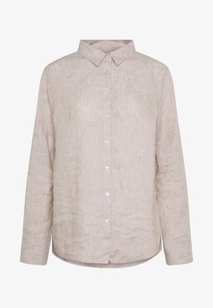 KIMBERLY SHIRT - Button-down blouse - beige