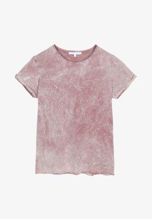 BACK SKULL TEE - T-shirt print - pink