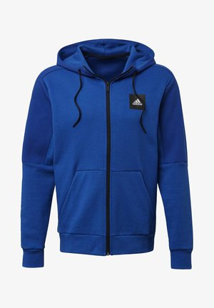 MUST HAVES FULL-ZIP STADIUM HOODIE - Zip-up hoodie - blue