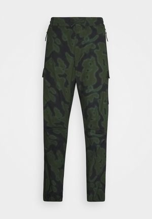 JOGGER COLUMBIA - Cargo trousers - green rinsed