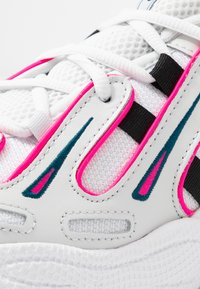 adidas Originals - EQT GAZELLE - Trainers - crystal white/core black/shock pink