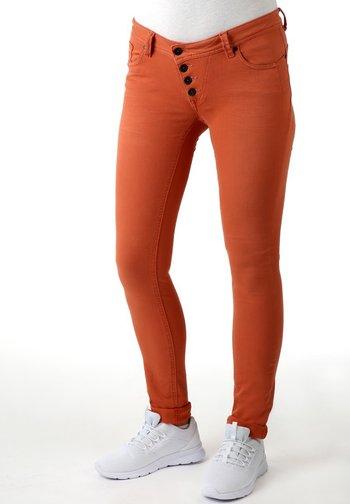 MALIBU STRETCH TWILL - Slim fit jeans - copper