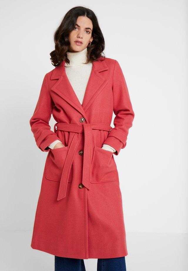 PRISCA COAT - Villakangastakki - bar rose