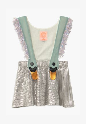 BIRD GIRL KONFETTI LIMITED - Korte jurk - silver/blue