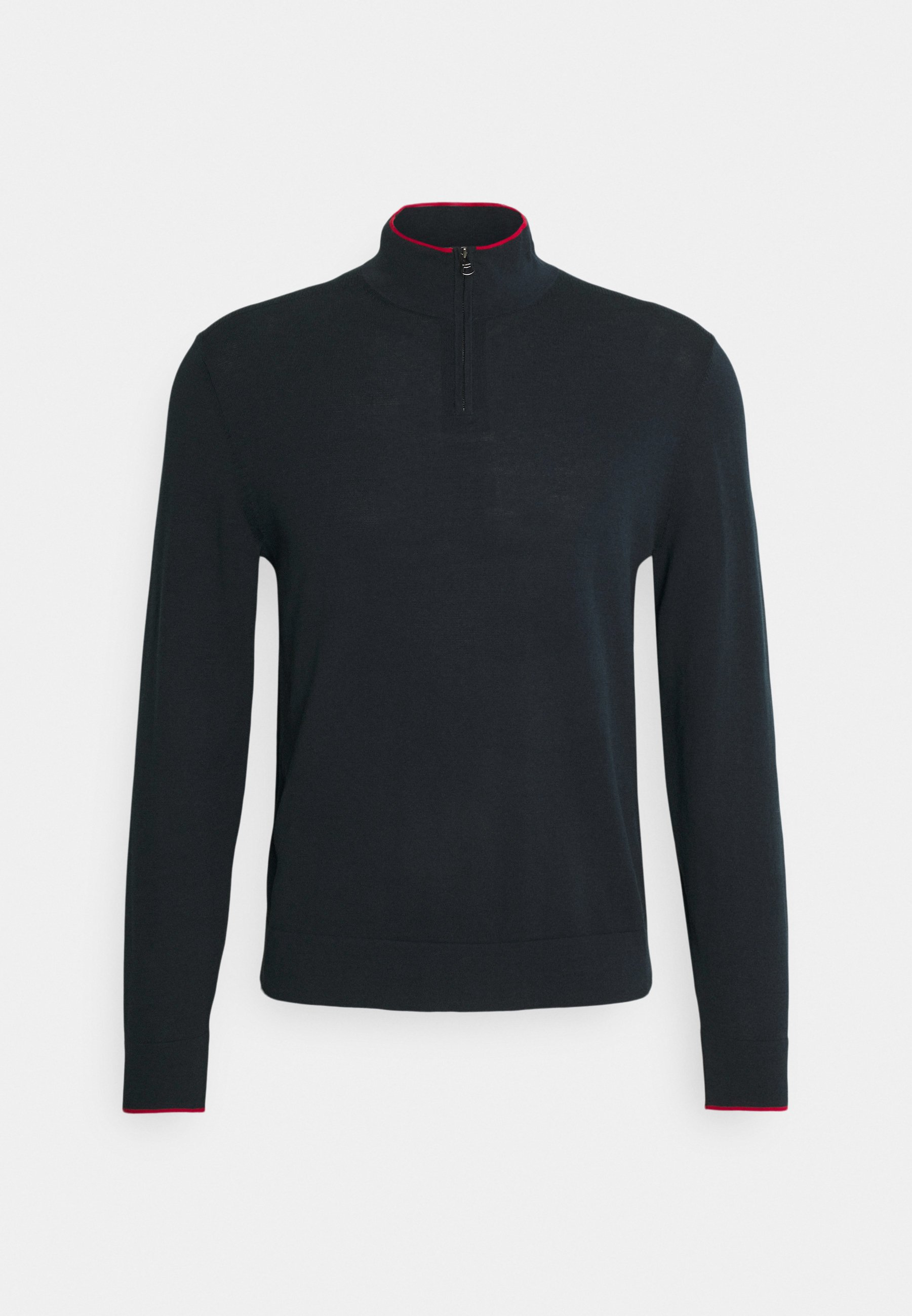 Homme TIPPED HALF ZIP - Pullover