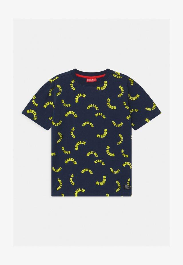 TAAVI UNISEX - T-shirt z nadrukiem - black iris