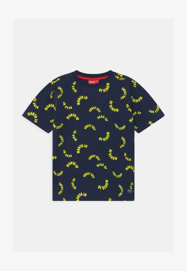 TAAVI UNISEX - Print T-shirt - black iris