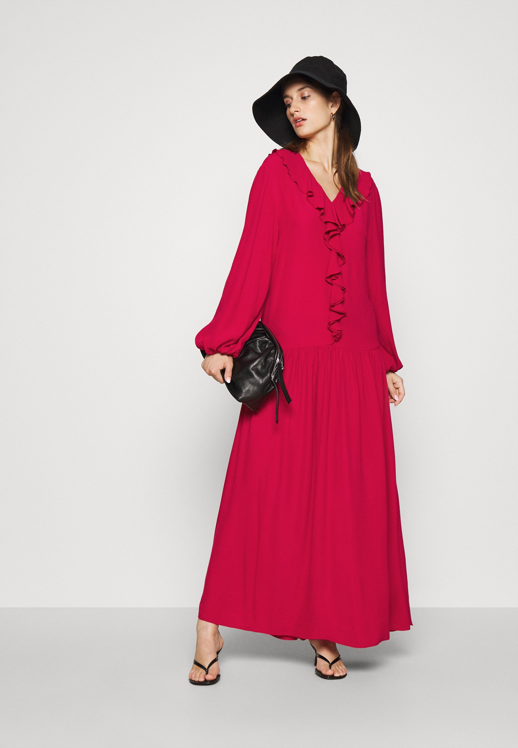 Carin Wester Dress Blair - Maxikjole Persian Red