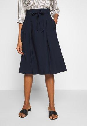 A-line skirt - marine