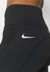 Nike Performance - FAST  - Tights - black/reflective silver - 4