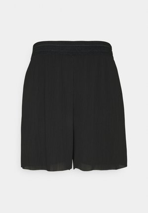 ONLMARIN PLISSE - Shorts - black