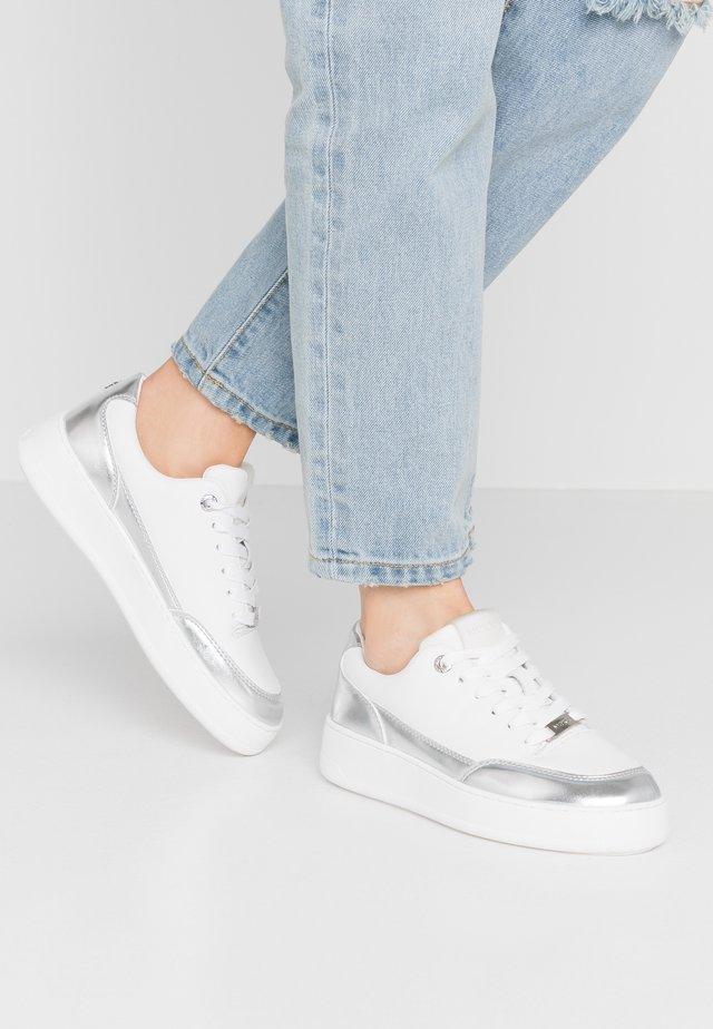 ELIZA - Sneakersy niskie - white/silver