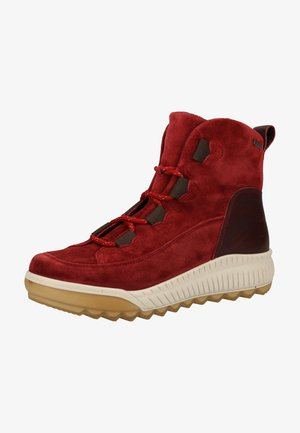 Winter boots - rio red