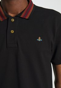 Vivienne Westwood - CLASSIC STRIPE COLLAR - Polo shirt - black - 8