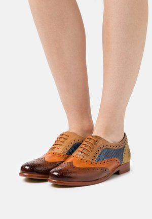 SELINA 30 - Lace-ups - tan/arancio/sand/wind/olivine/rich tan/natural