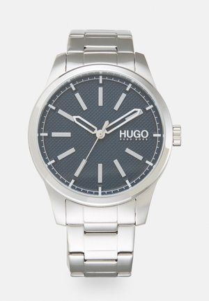 INVENT - Watch - silver-coloured/blue