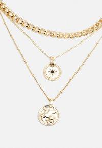 Pieces - PCKERTIN COMBI NECKLACE  - Necklace - gold-coloured - 2