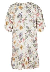 Zizzi - Day dress - creme vintage flower - 2