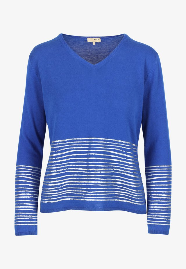 Pullover - saphire blue