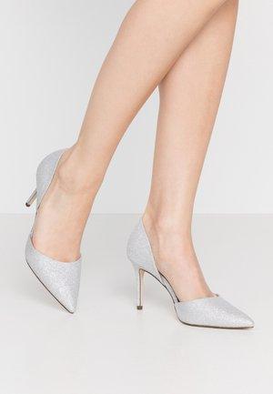 TELANA - High heels - silver