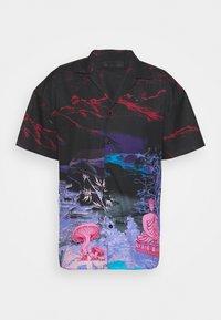 SATURN SATEEN - Shirt - navy