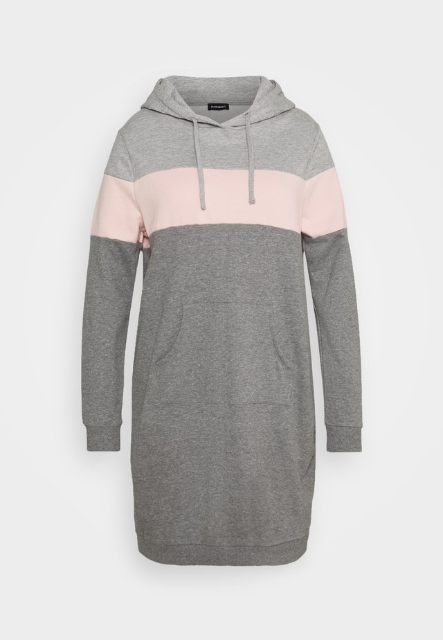 Day dress - pink/grey