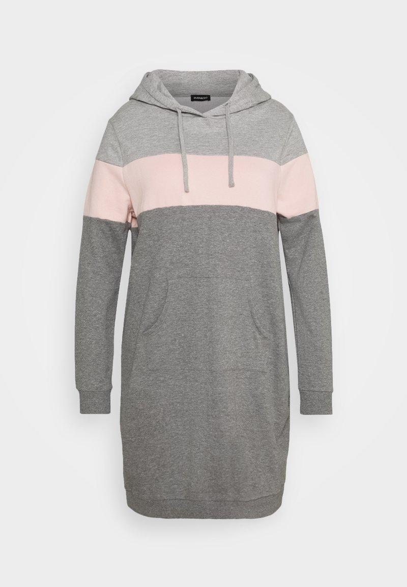 Even&Odd Curvy - Day dress - pink/grey