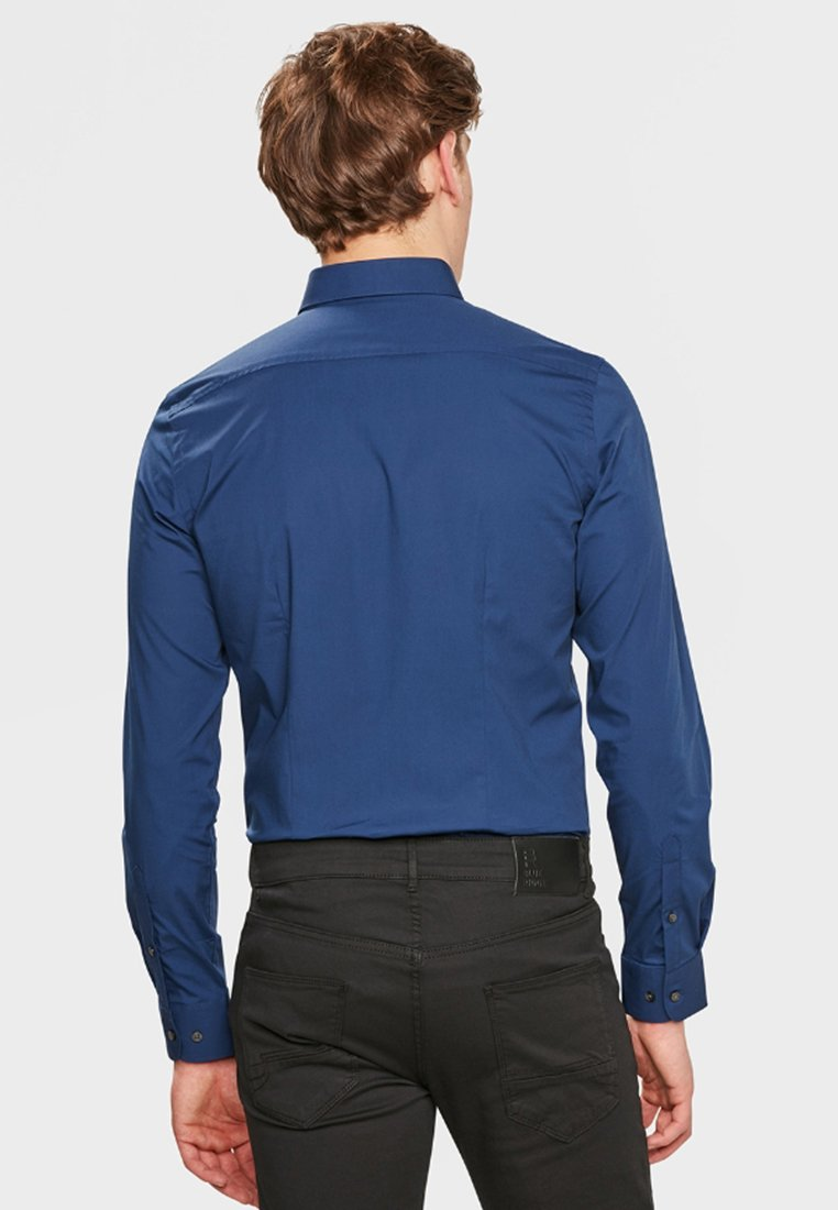 WE Fashion SLIM FIT STRETCH - Hemd - blue/grey/blaugrau RFCPWL