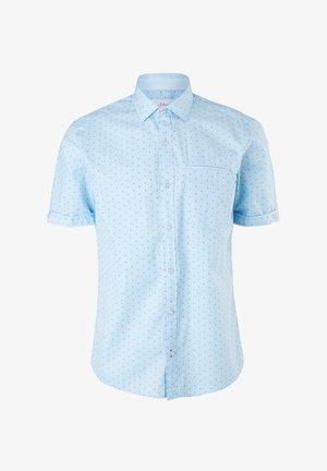 Overhemd - light blue aop