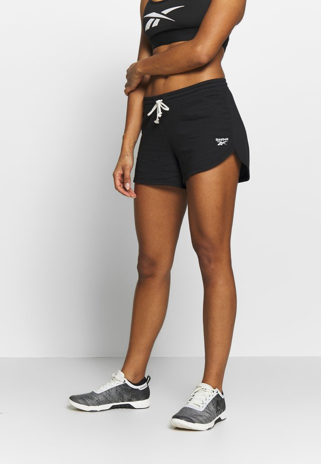 FRENCH TERRY ELEMENTS SPORT SHORTS - kurze Sporthose - black