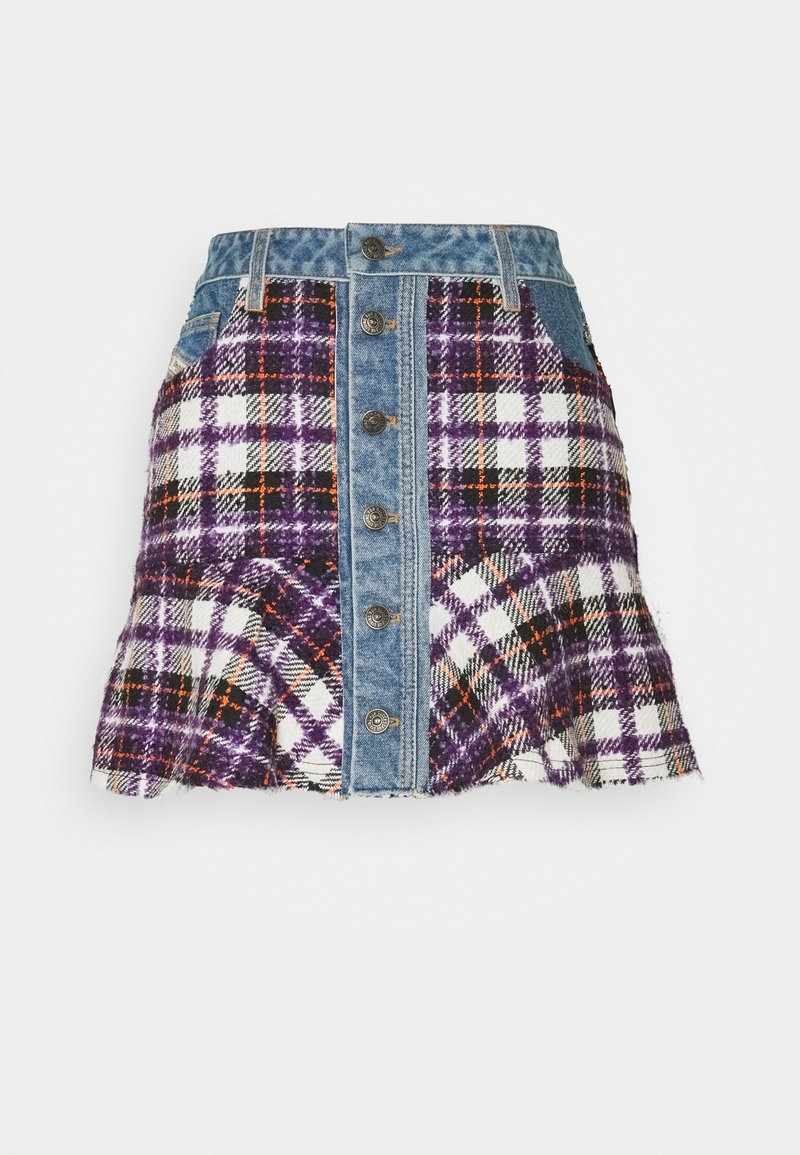 Diesel - O-BETH-BUCLE SKIRT - Mini skirt - multicolour