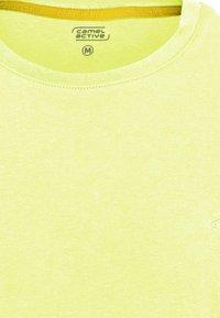 camel active - Basic T-shirt - limone - 7