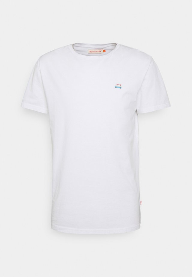 REGULAR - Jednoduché triko - white