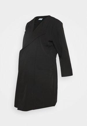 PCMPAIGE COATIGAN - Manteau court - black
