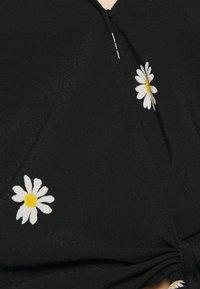 Madewell - ATHENA WRAP - Blouse - true black - 5