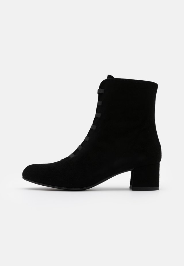 DIANBO - Bottines à lacets - black