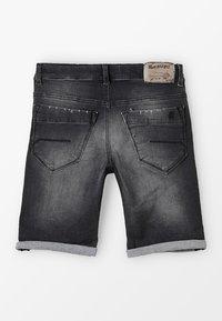 Blue Effect - BOYS - Denim shorts - black medium - 1