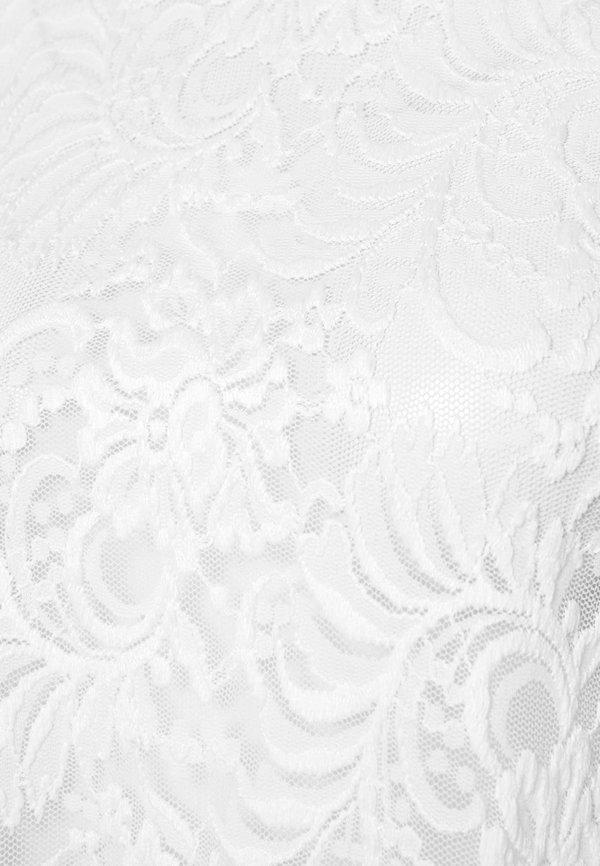 ONLY ONLALBA - Bluzka - cloud dancer/biały ZHAW