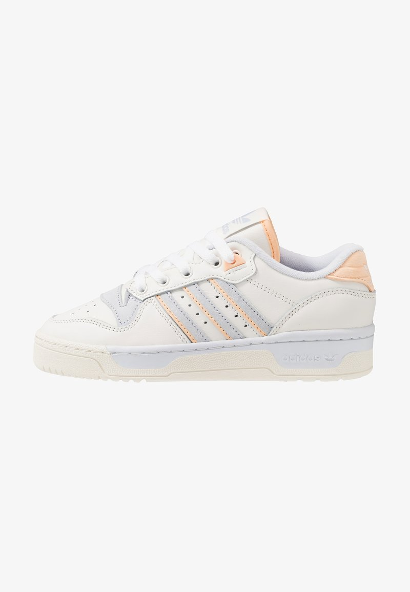 adidas Originals - RIVALRY - Trainers - cloud white/offwhite/aero blue