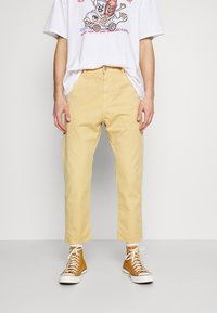 Edwin - UNIVERSE PANT CROPPED - Trousers - curry - 0