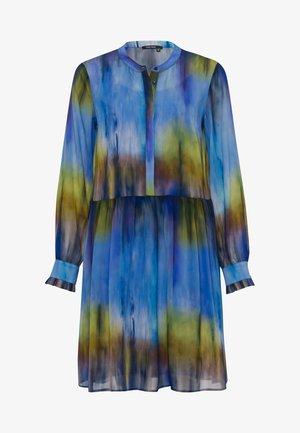Shirt dress - batik blue varied