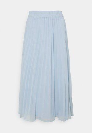 LAURA PLISSÉ SKIRT - A-line skirt - blue light