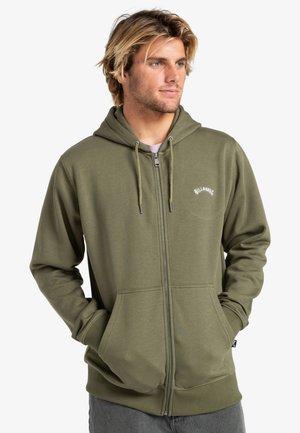 ORIGINAL  - Zip-up sweatshirt - military