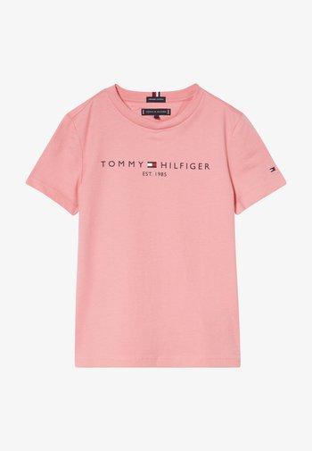 ESSENTIAL LOGO UNISEX - Print T-shirt - pink
