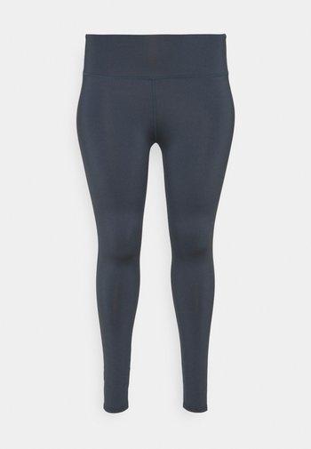 HIGHWAIST LEGGING CURVE - Leggings - ombre blue